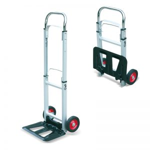 AT90 Portable Aluminium Fold Heavy Duty Sack Truck Transport Trolley Cart